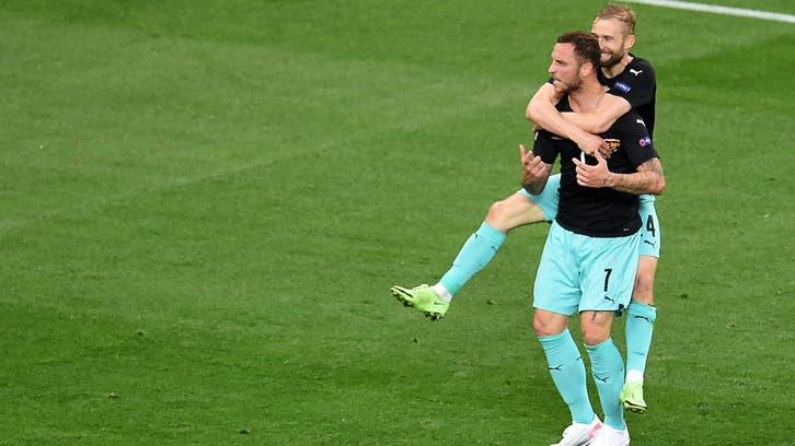النمسا تحقق فوزاً تاريخياً على حساب مقدونيا