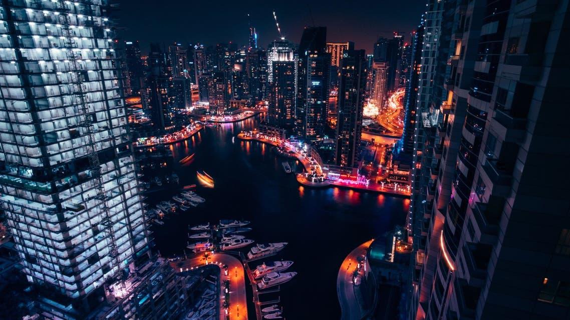 A general view of Dubai Marina. (Unsplash, Daniel Zacatenco)