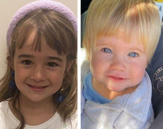 الطفلتان آنّا وأوليفيا