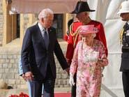 بايدن وزوجته في ضيافة الملكة اليزابث بقلعة وندسور