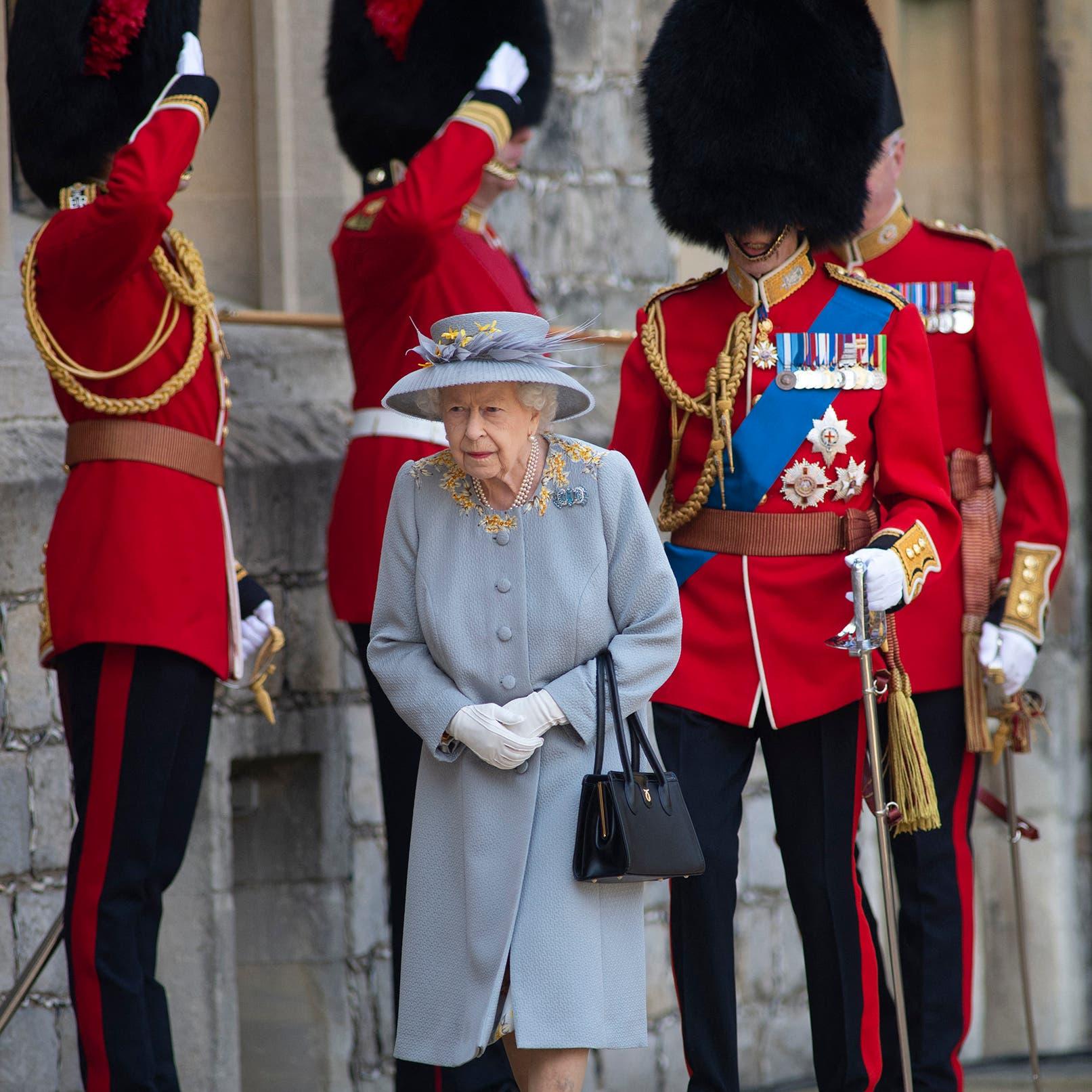 لأول مرة دون فيليب.. الملكة إليزابيث تحضر مراسم ميلادها