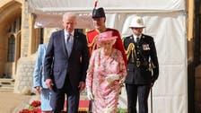 'جی سیون' اجلاس کے بعد امریکی صدر، خاتون اول کی ملکہ الزبتھ کی چائے کی دعوت میں شرکت