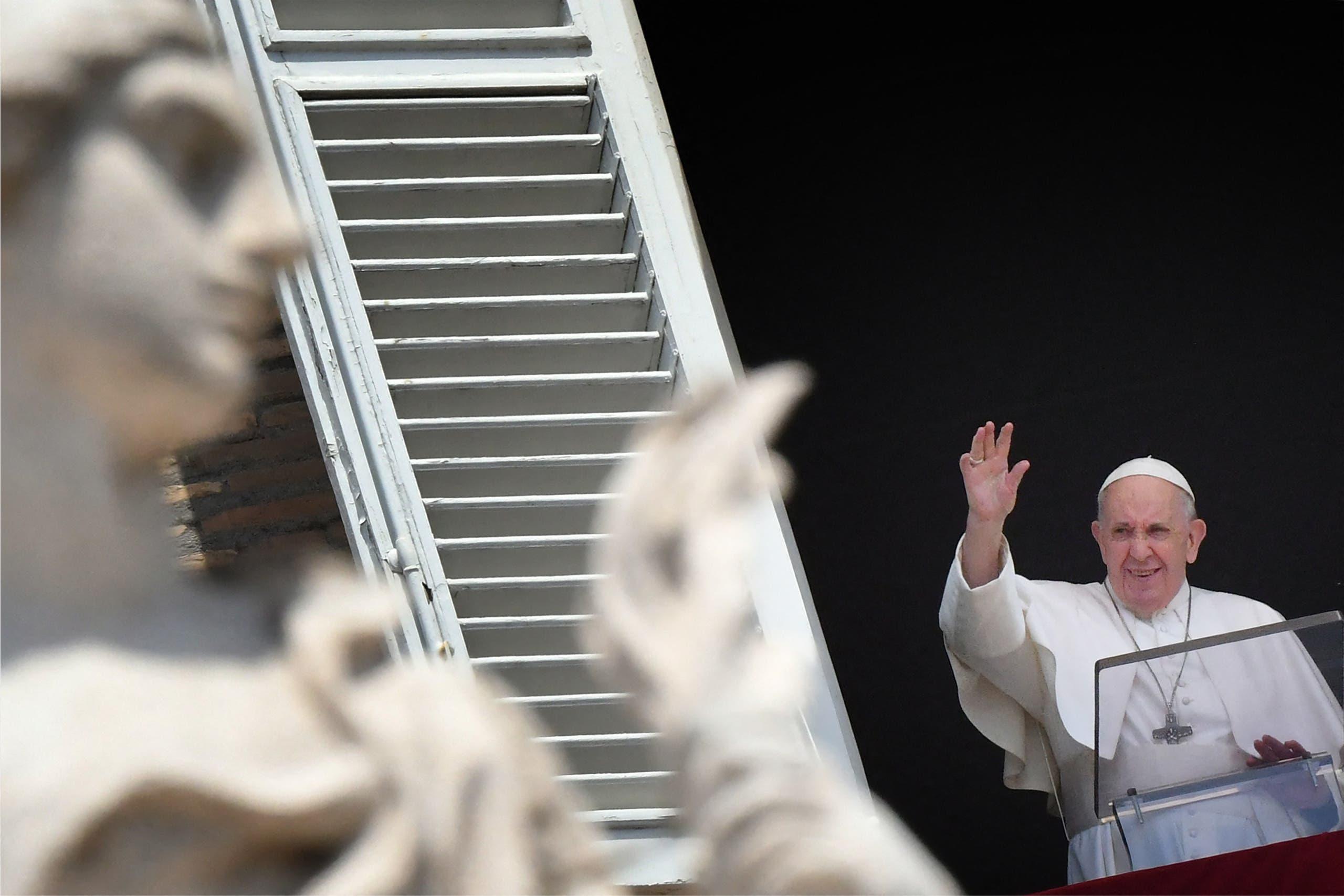 البابا فرنسيس خلال عظة اليوم