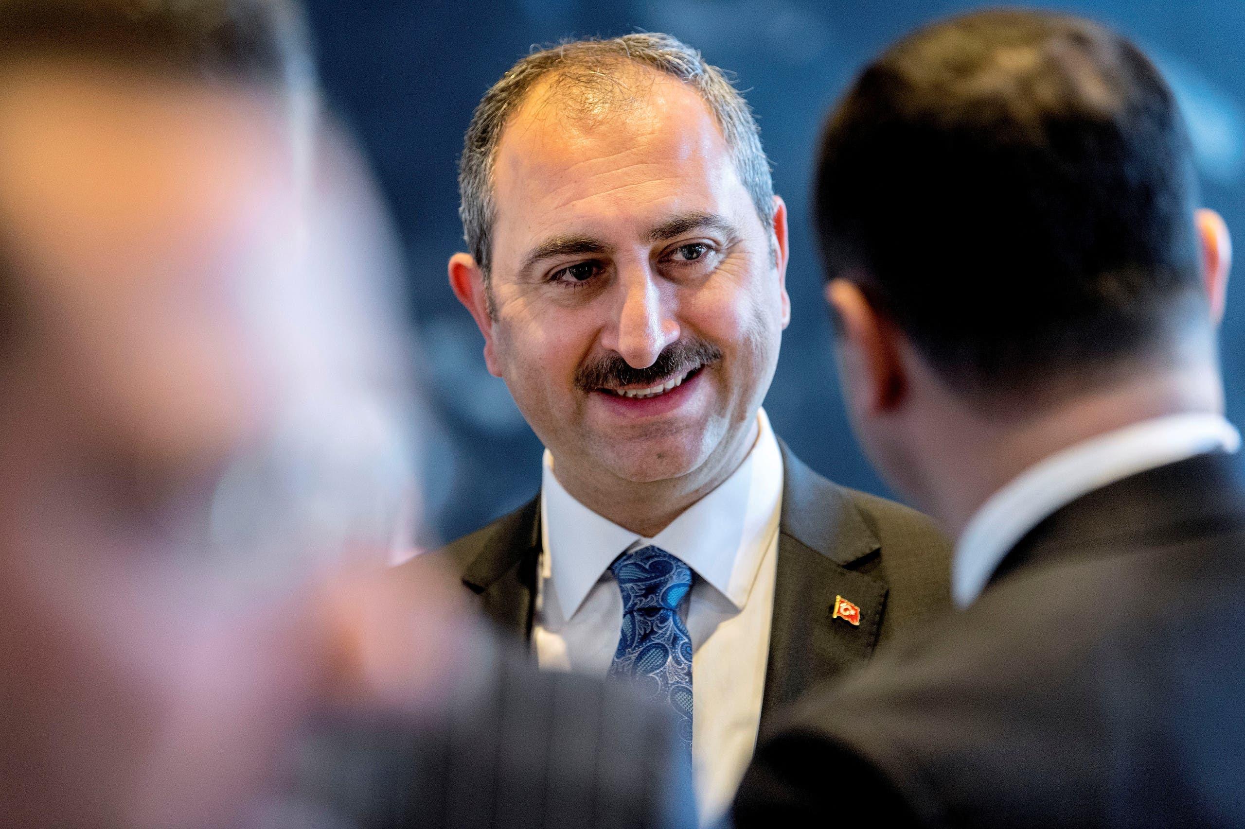 وزير العدل التركي عبدالحميد غول (أرشيفية)