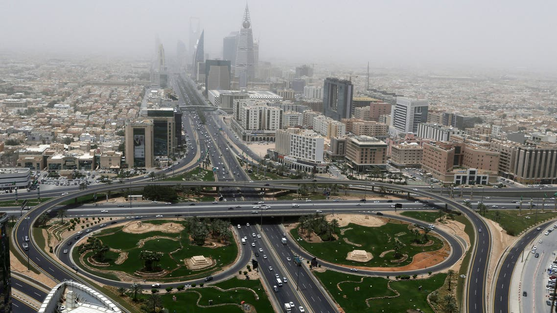 General view of Riyadh city, after the Saudi government eased a curfew, following the outbreak of the coronavirus disease (COVID-19), in Riyadh, Saudi Arabia, May 7, 2020. (Reuters)