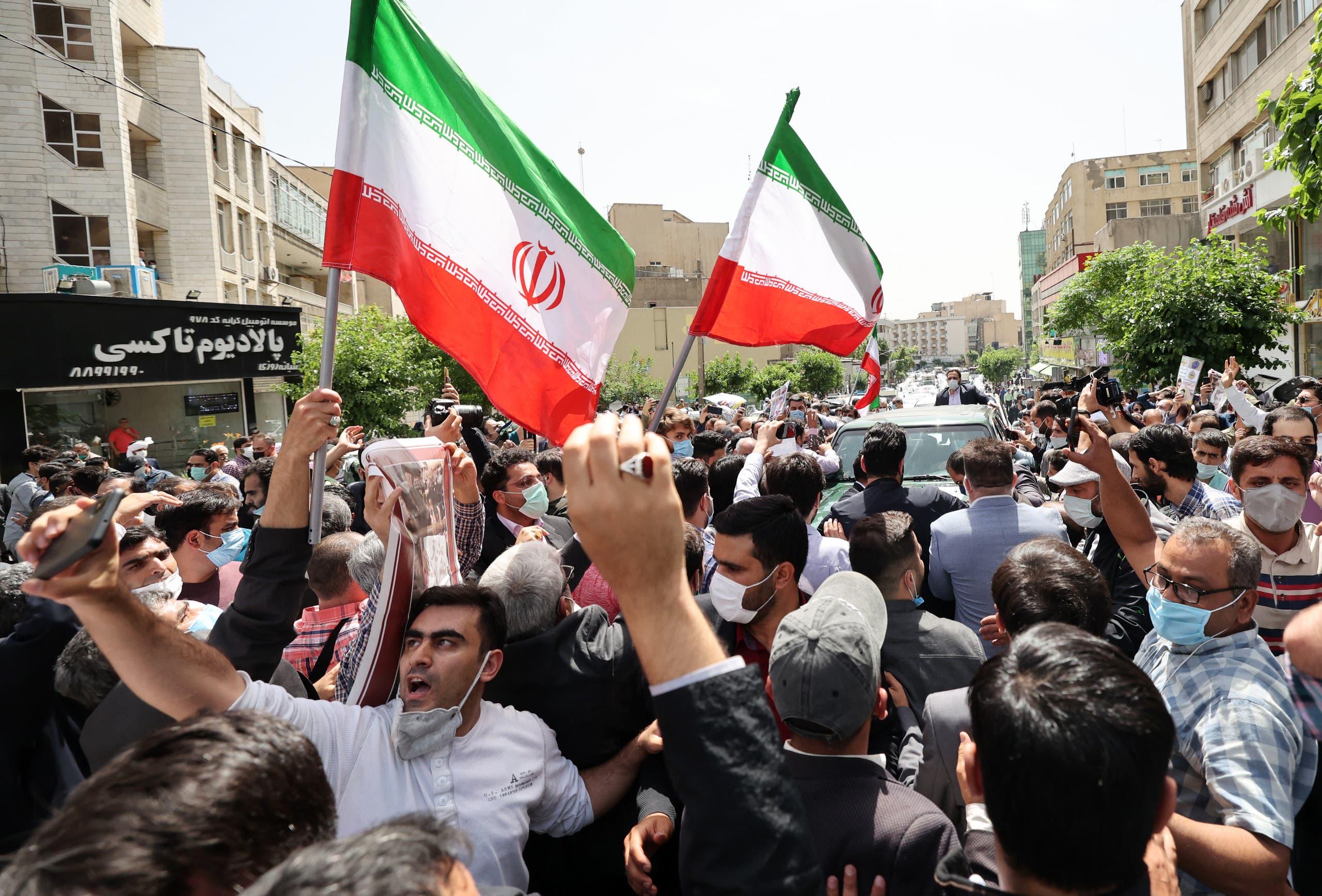ایرانی صدر کے حامی