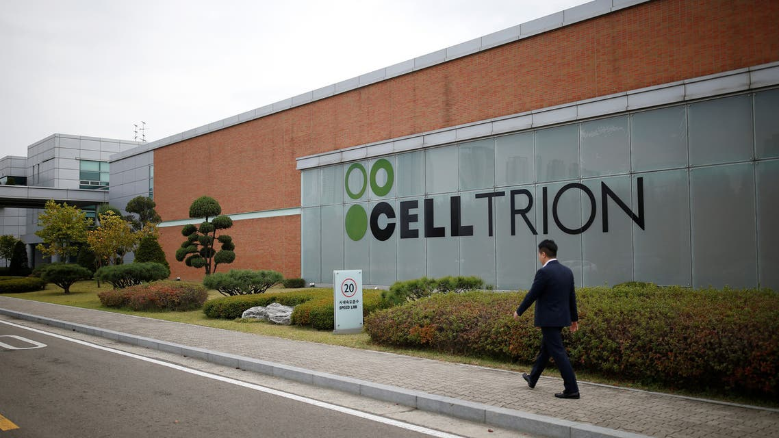 The logo of Celltrion is seen at company's headquarters in Incheon, South Korea, October 28, 2016. (File photo: Reuters)