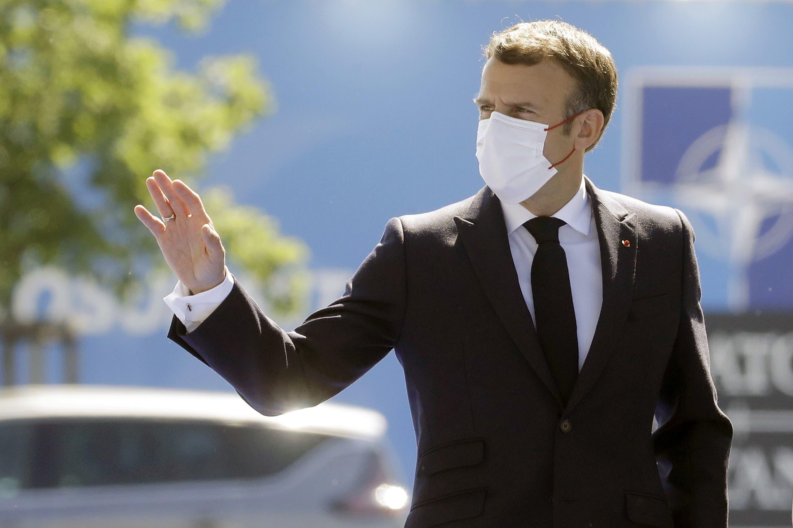 Macron at the NATO summit