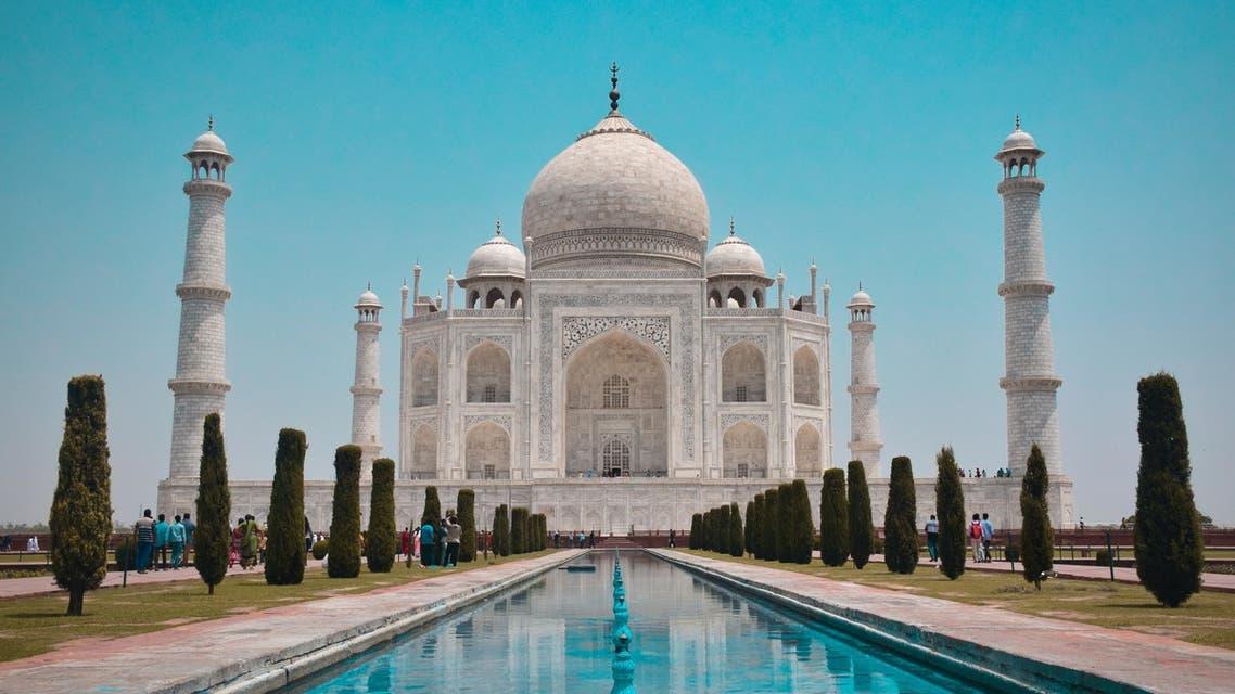 A general view of one of India's most famous landmark's, the Taj Mahal. (Unsplash, Jovyn Chamb)