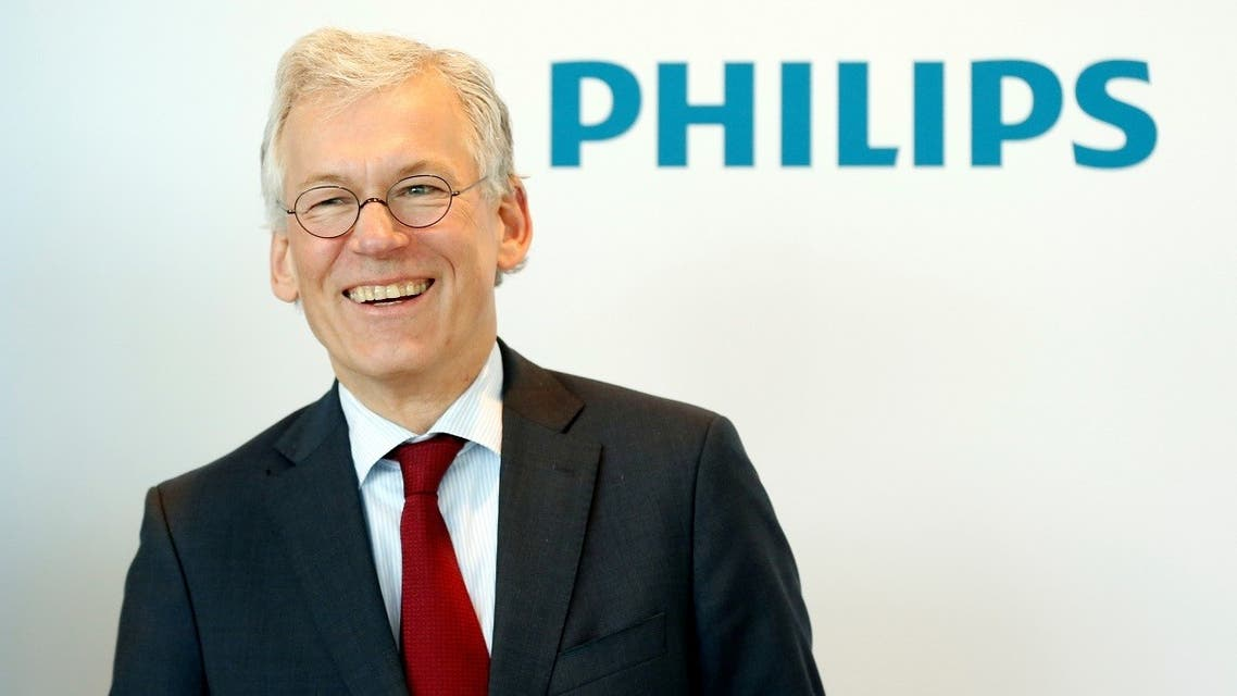 Frans van Houten, CEO of  the Dutch health technology company Philips. (Reuters)