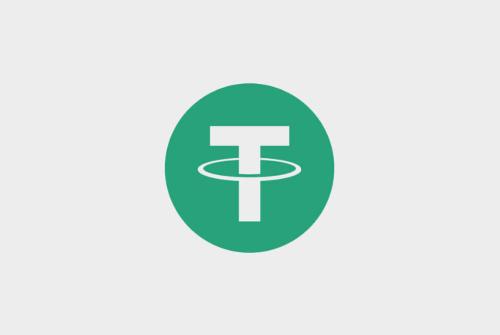 شعار عملة Tether المشفرة