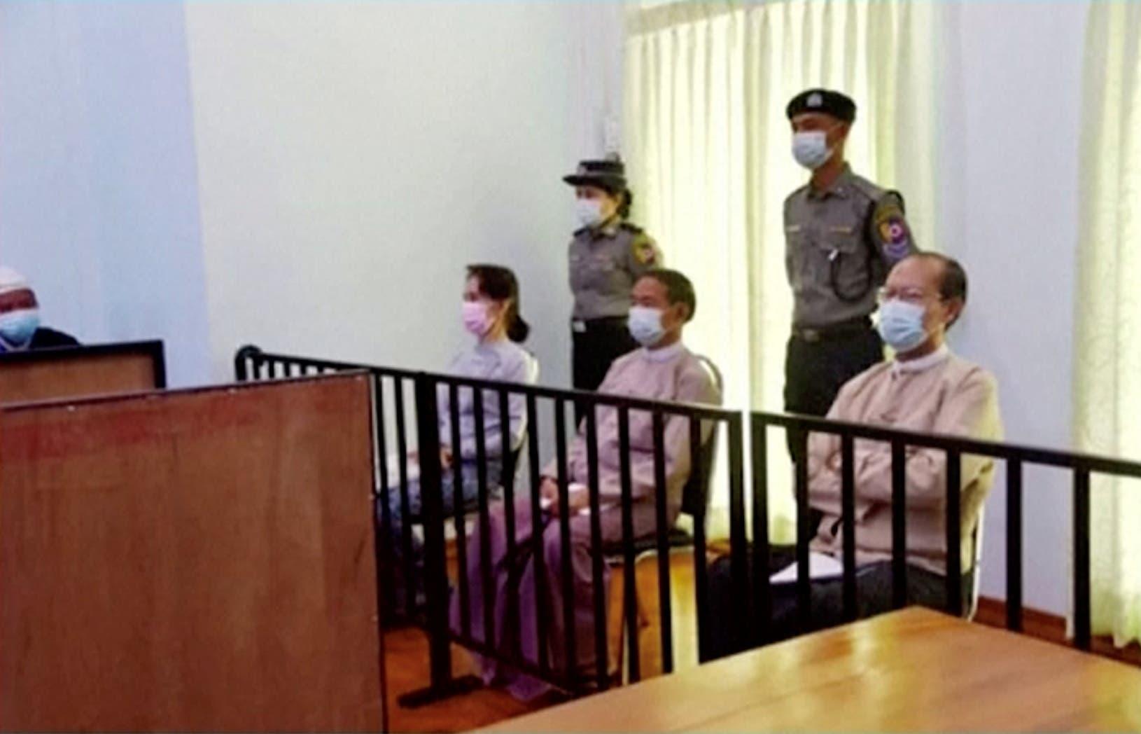 The trial of Aung San Suu Kyi begins today in Myanmar
