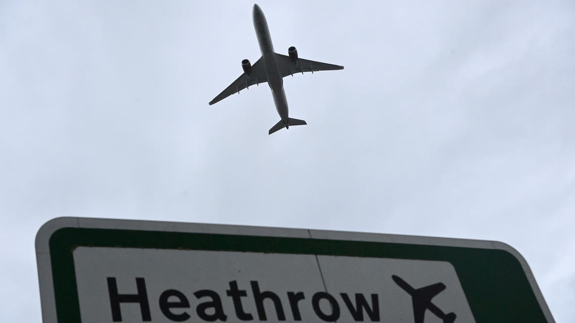 مطار هيثرو الدولي في لندن