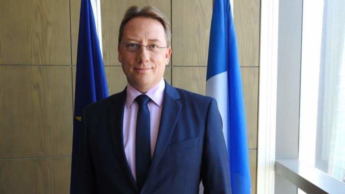 السفير الفرنسي بالسعودية لودوفيك بوي