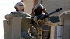 Egypt army kills 13 extremists in north and central Sinai