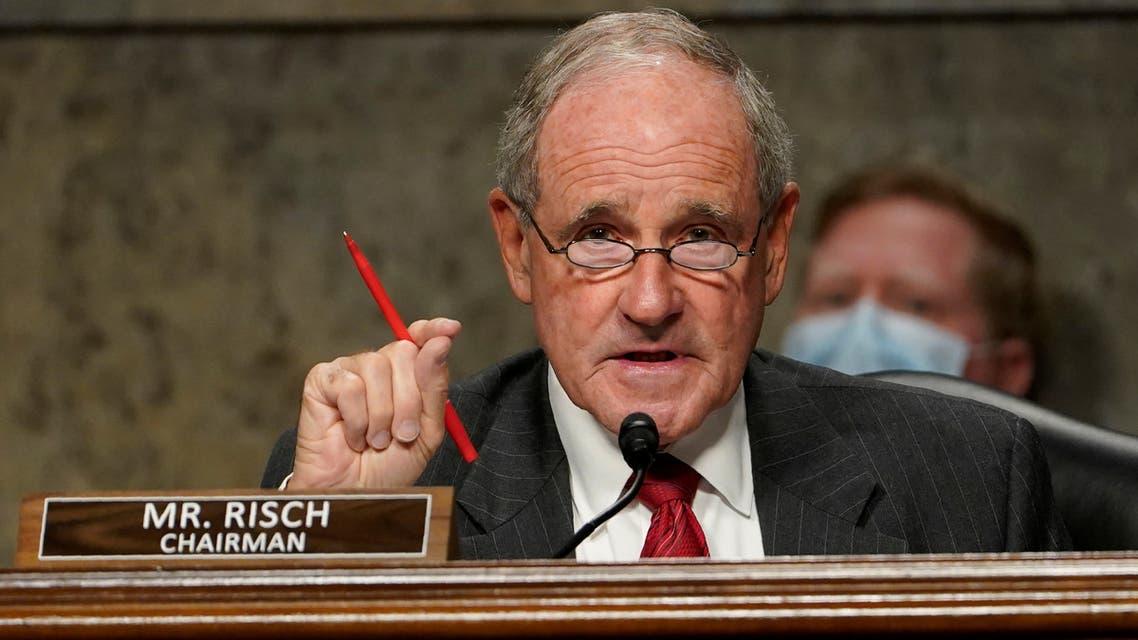 السناتور الجمهوري جيم ريش (رويترز)