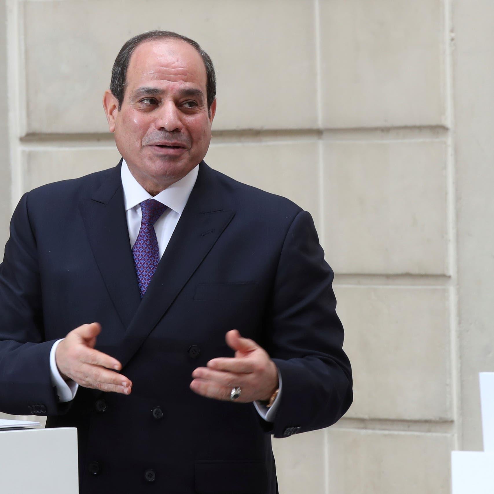 مصر.. السيسي يطلق استراتيجية وطنية لحقوق الإنسان