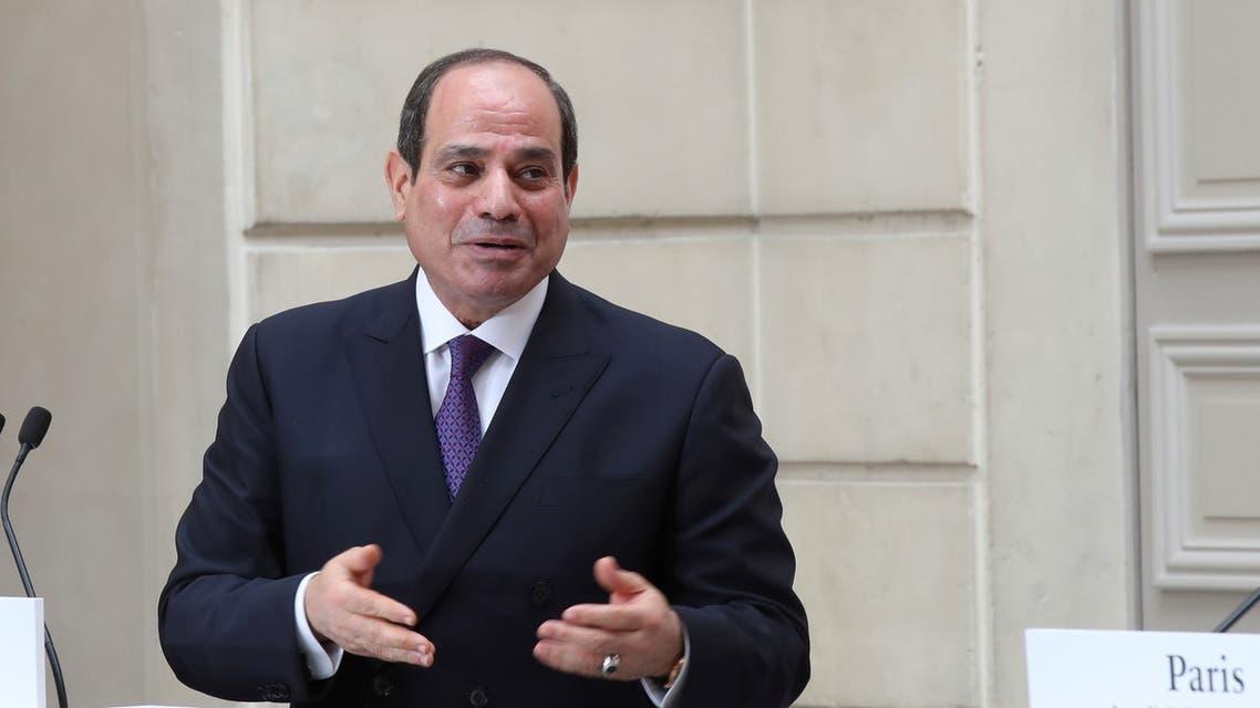 الرئيس المصري عبدالفتاح السيسي (رويترز)