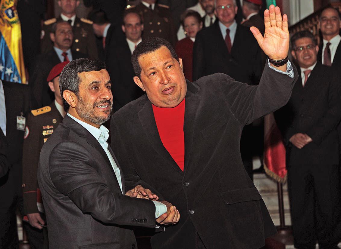 چاوز و احمدینژاد