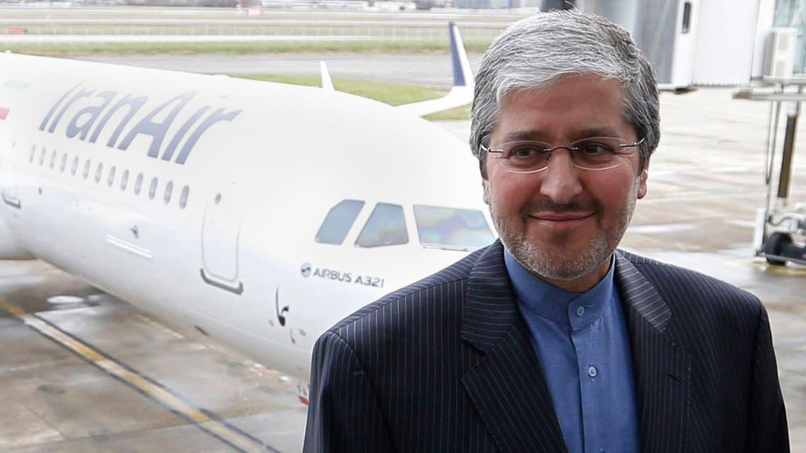ممثل إيران الدائم لدى إيكاو (رويترز)