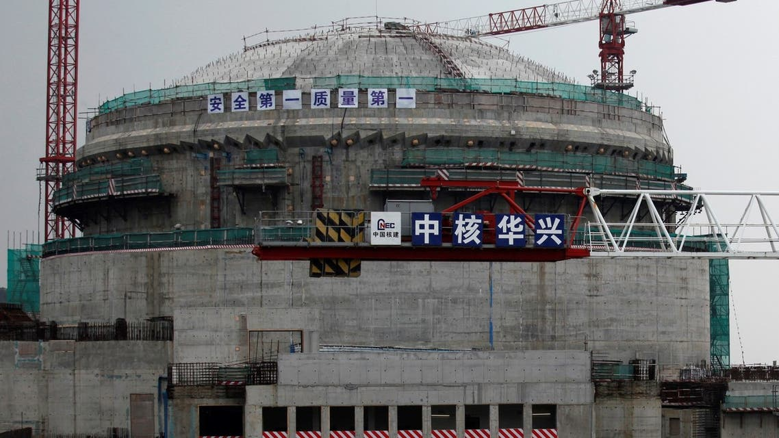 The Taishan nuclear plant under construction in 2013. (File photo: Reuters)