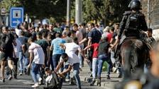 مقبوضہ القدس:یہودی انتہاپسندوں کا مارچ،اسرائیلی فورسز سے جھڑپمیں متعدد فلسطینی زخمی