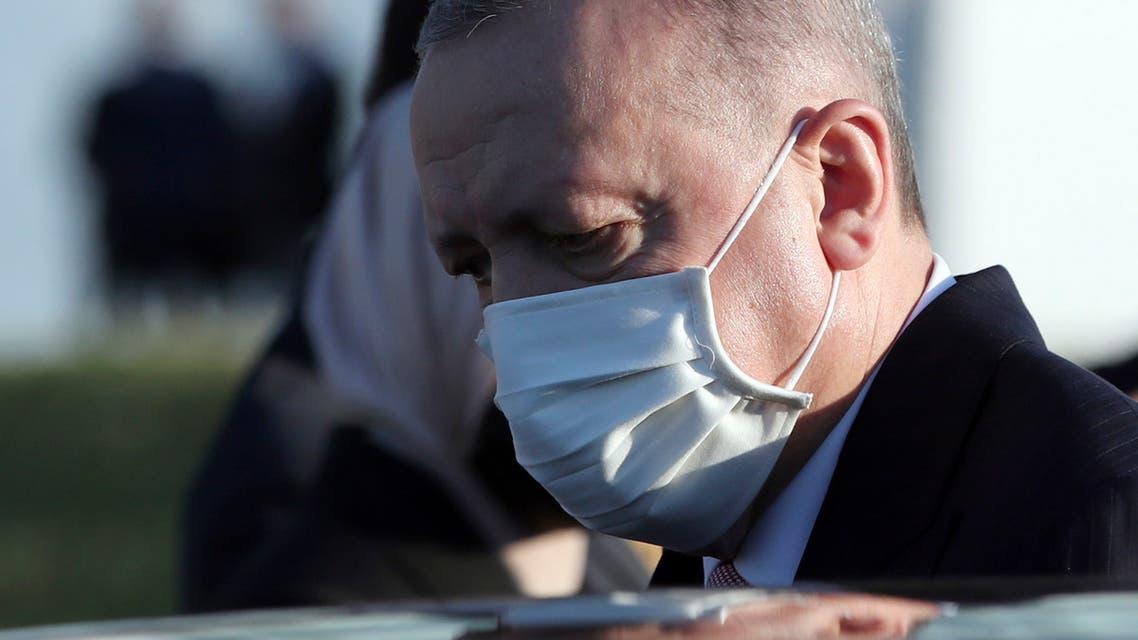 الرئيس التركي رجب طيب أردوغان (أسوشييتد برس)