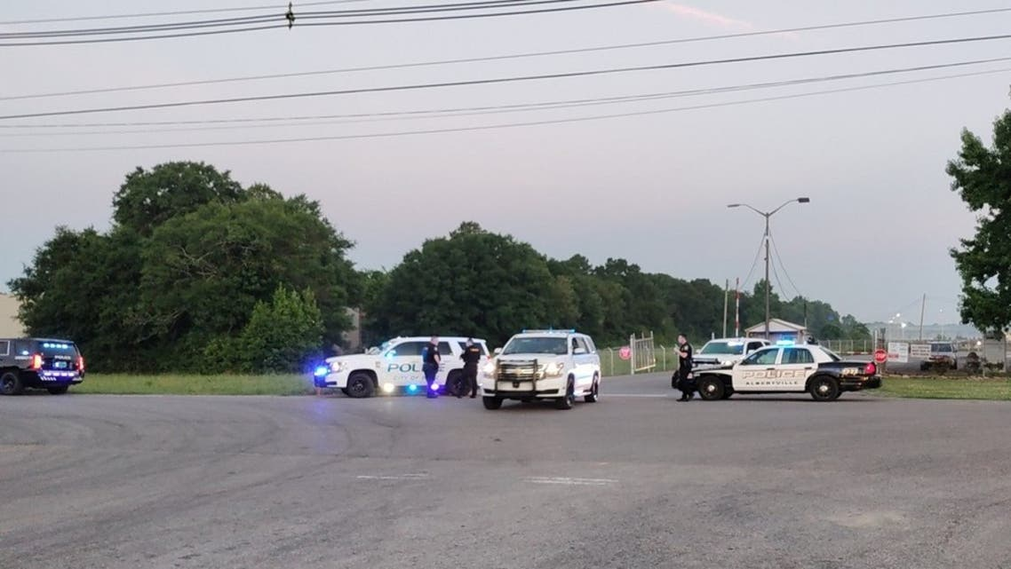 A worker at a fire hydrant plant in Alabama pulled out a gun and began firing early Tuesday, killing two people and wounding two more. (Twitter)