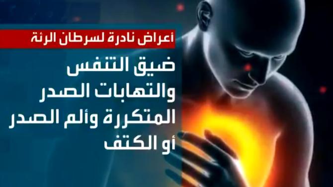 أعراض نادرة لسرطان الرئة