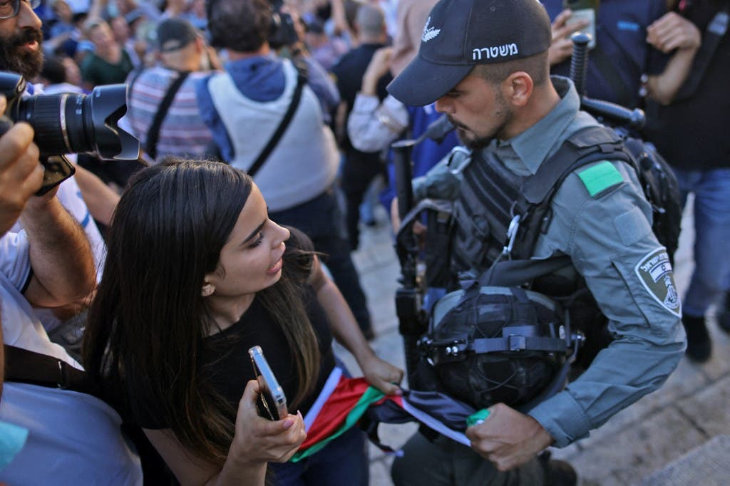 About the confrontations during the flag march in Jerusalem