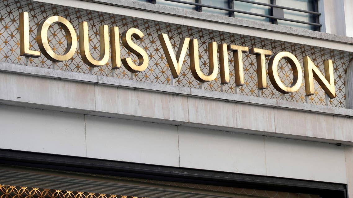 A Louis Vuitton logo is seen outside a store on the Champs-Elysees in Paris, France, September 18, 2020. (File Photo: Reuters)