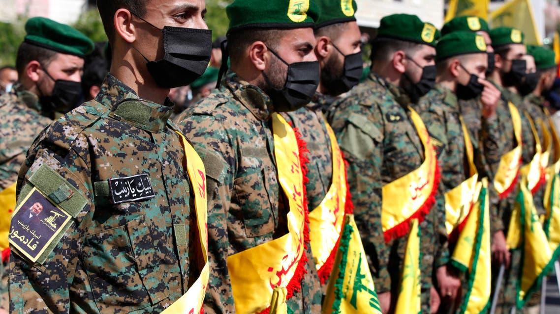 عناصر من حزب الله (أسوشييتد برس)
