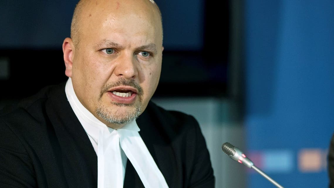 Defence Counsel for Kenya's Deputy President William Ruto, Karim Khan attends a news conference before the trial of Ruto and Joshua arap Sang at the International Criminal Court (ICC) in The Hague September 9, 2013. (Reuters)