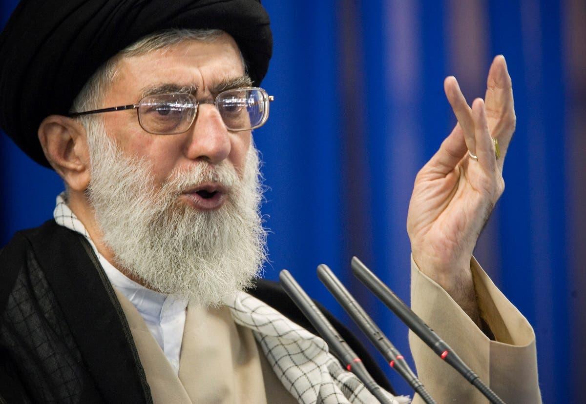Iran's Supreme Leader Ali Khamenei speaks during Friday prayers in Tehran. (File photo: Reuters)