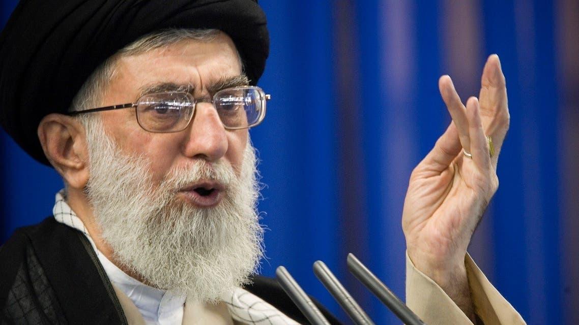 Iran's Supreme Leader Ayatollah Ali Khamenei speaks during Friday prayers in Tehran. (File photo: Reuters)