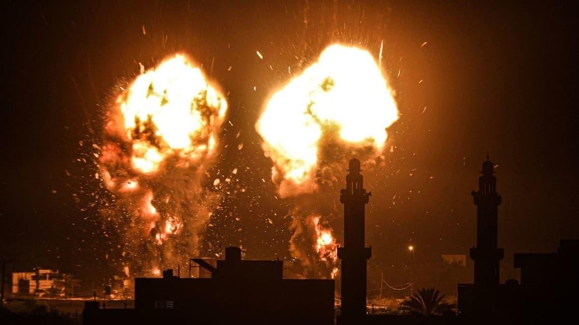 قصف في غزة