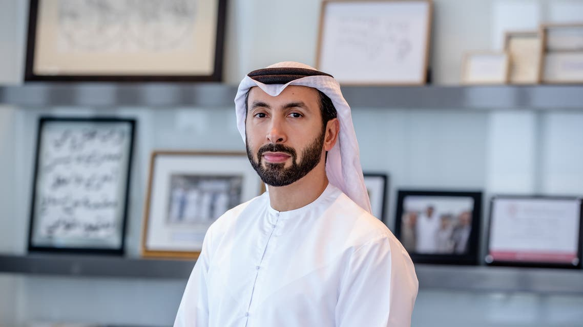 Hasan Jasem Al Nowais, CEO of Mubadala Health, announces the acquisition of a 60 percent stake in the United Arab Emirates-based United Eastern Medical Services (UEMedical). (Supplied)