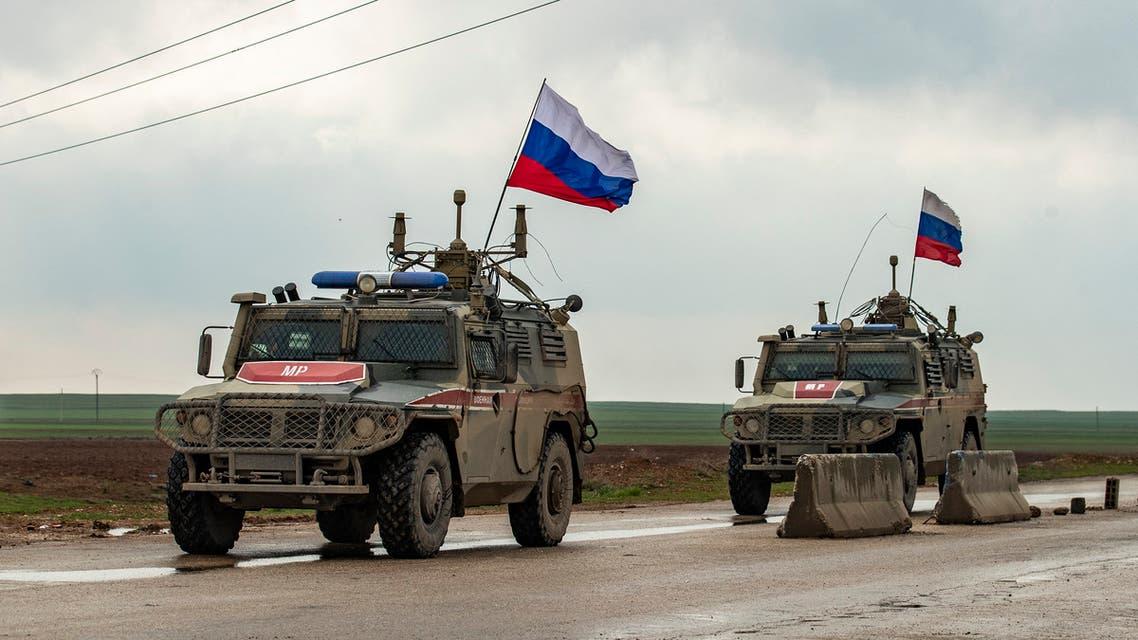 قوات روسية شرق سوريا (أرشيفية- فرانس برس)