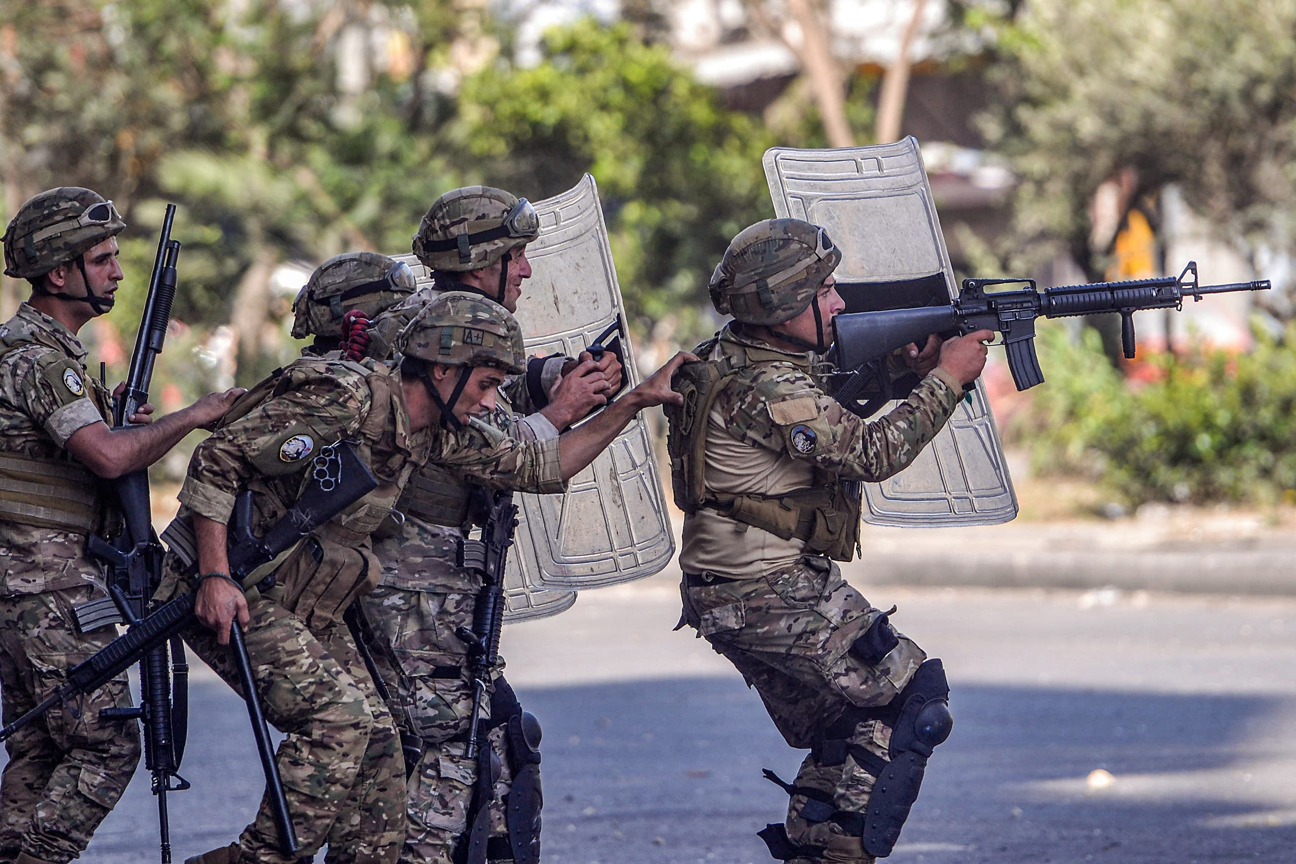 Members of the Lebanese Army (AFP)