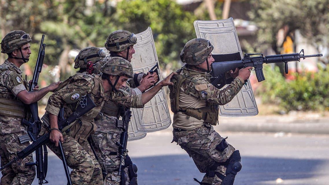 عناصر من الجيش اللبناني (فرانس برس)