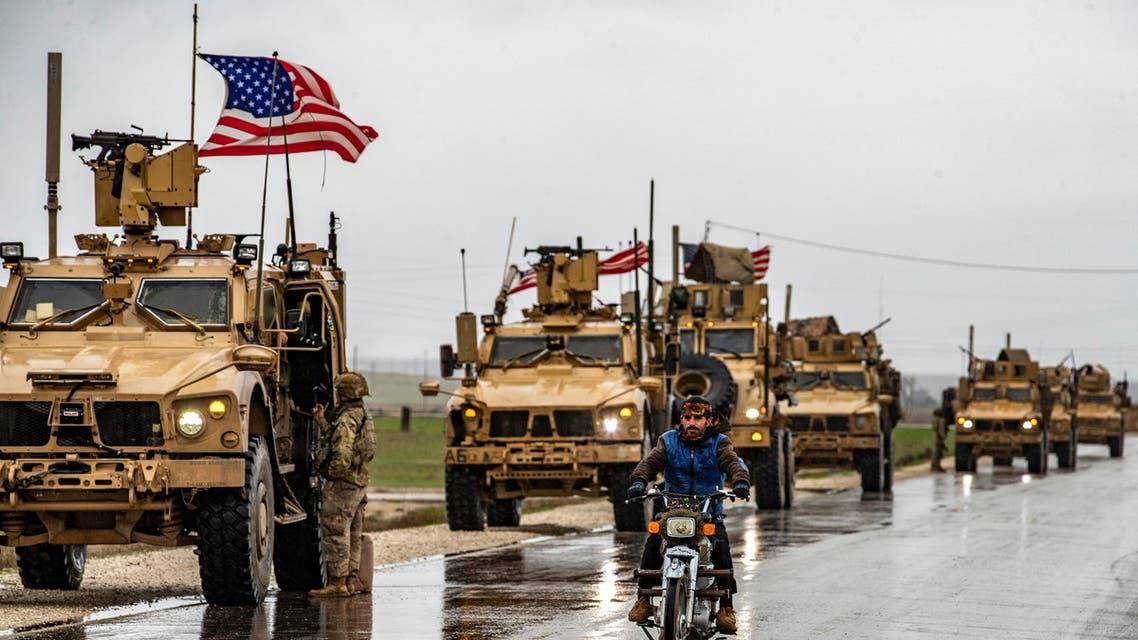 قوات أميركية شرق سوريا (أرشيفية- فرانس برس)