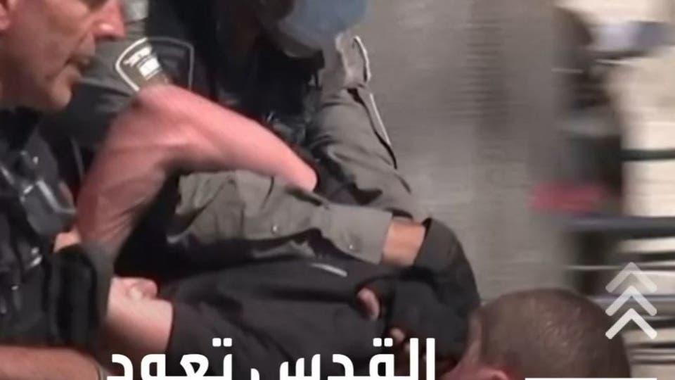 إصابة 87 فلسطينيا خلال مواجهات مع الشرطة الإسرائيلية في القدس