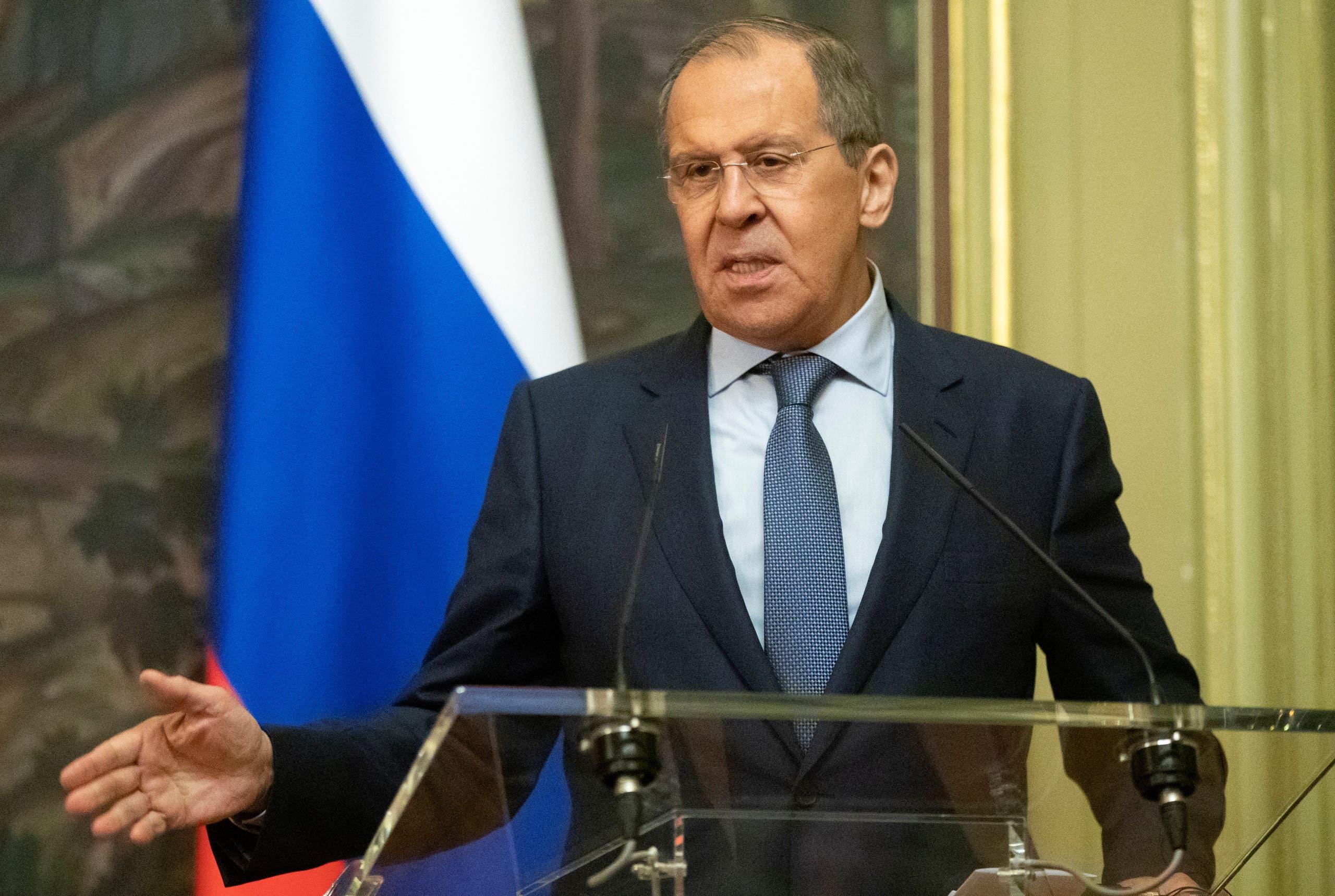 روسی وزیرخارجہ سرگئی لاوروف