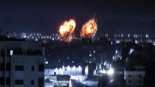 Israel launches air strikes on Gaza in response to incendiary balloons