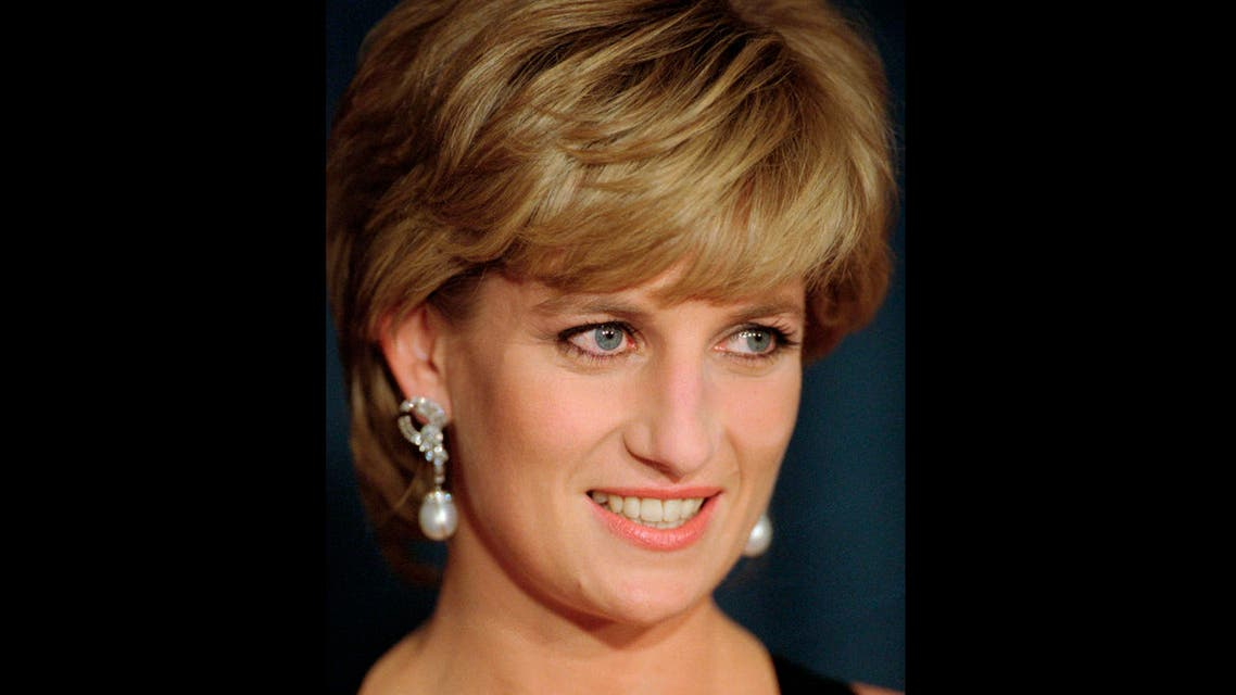 In this Dec. 11, 1995 file photo, Diana, Princess of Wales, smiles at the United Cerebral Palsy's annual dinner at the New York Hilton. (AP)