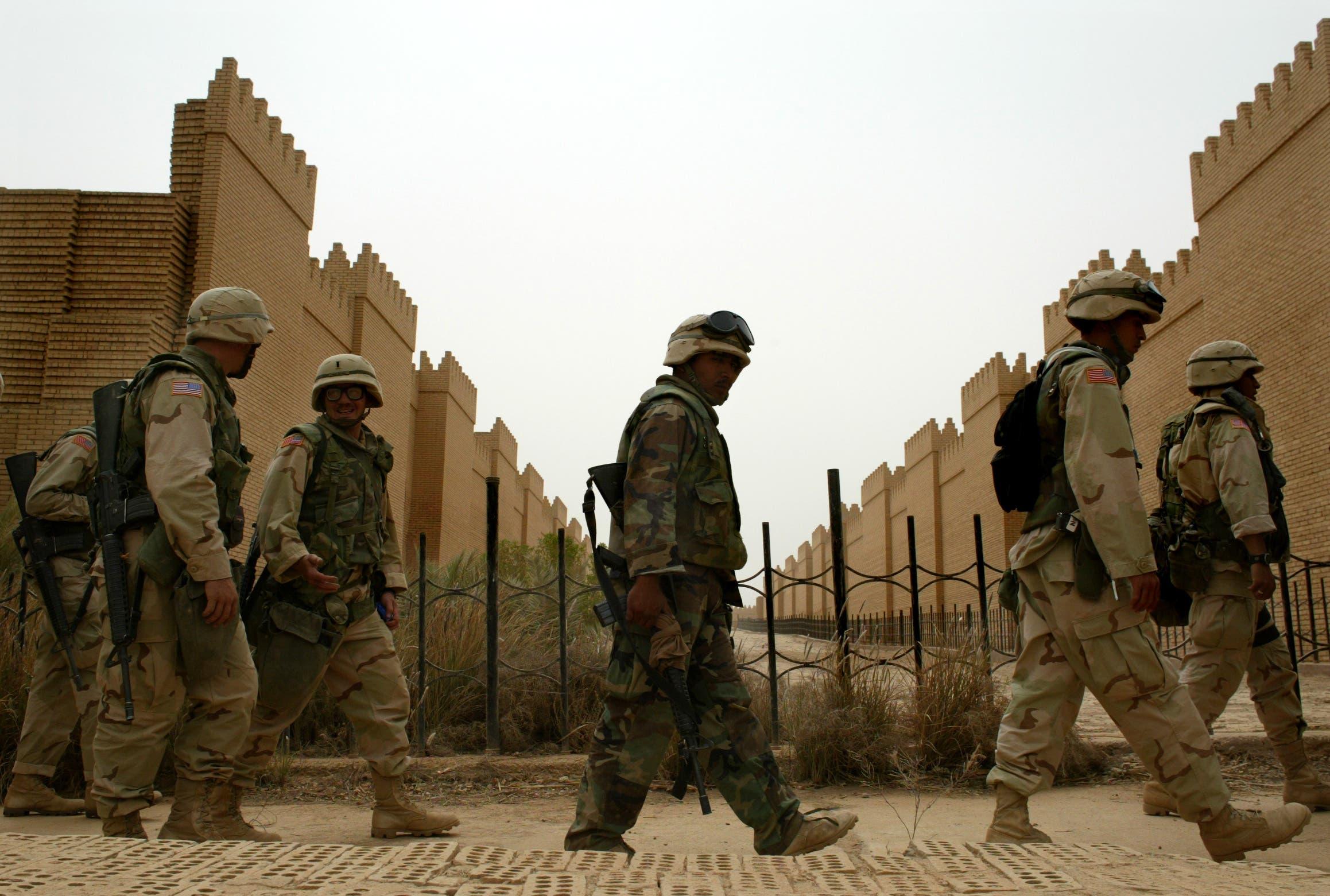جنود أميركيون في العراق في 2003 (أرشيفية)