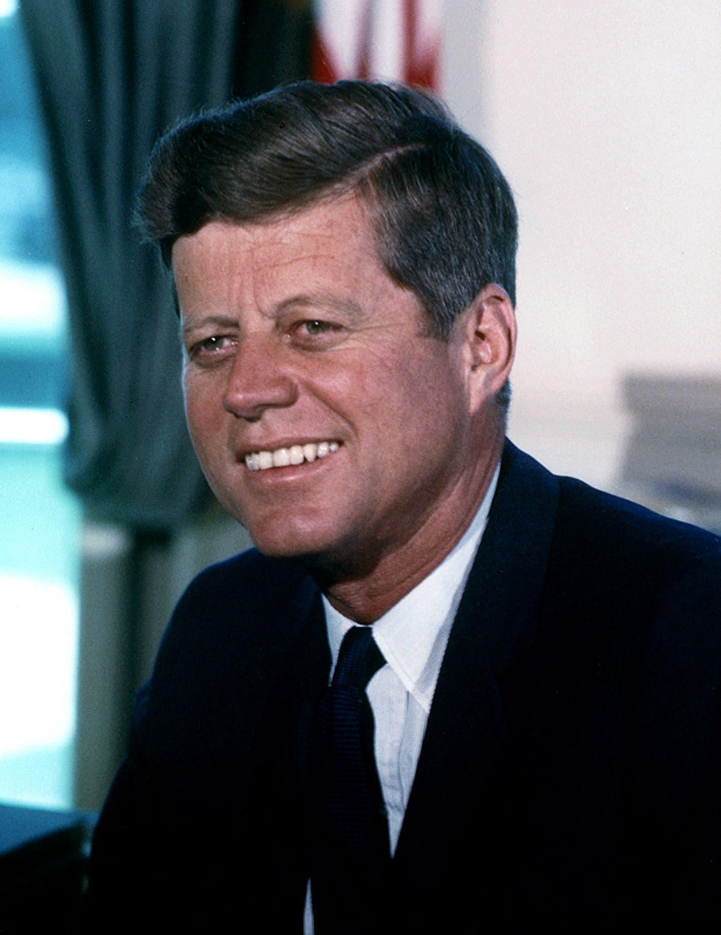 صورة للرئيس الأميركي جون كينيدي
