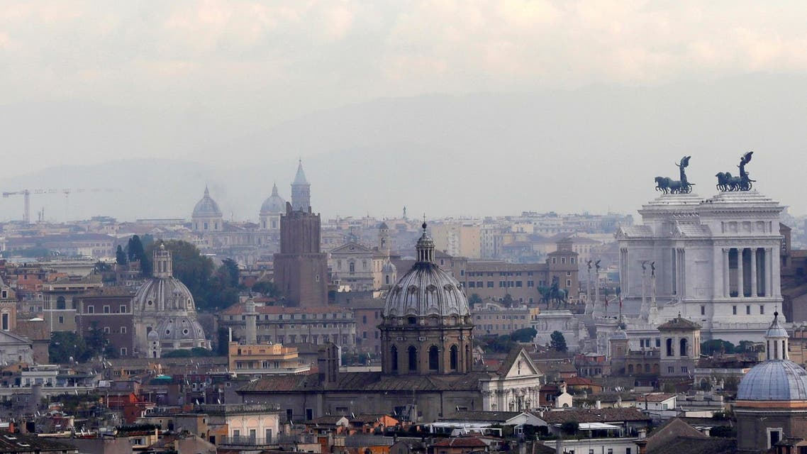 A general view of the skyline of Rome, Italy taken on Nov. 4, 2016. (AP)