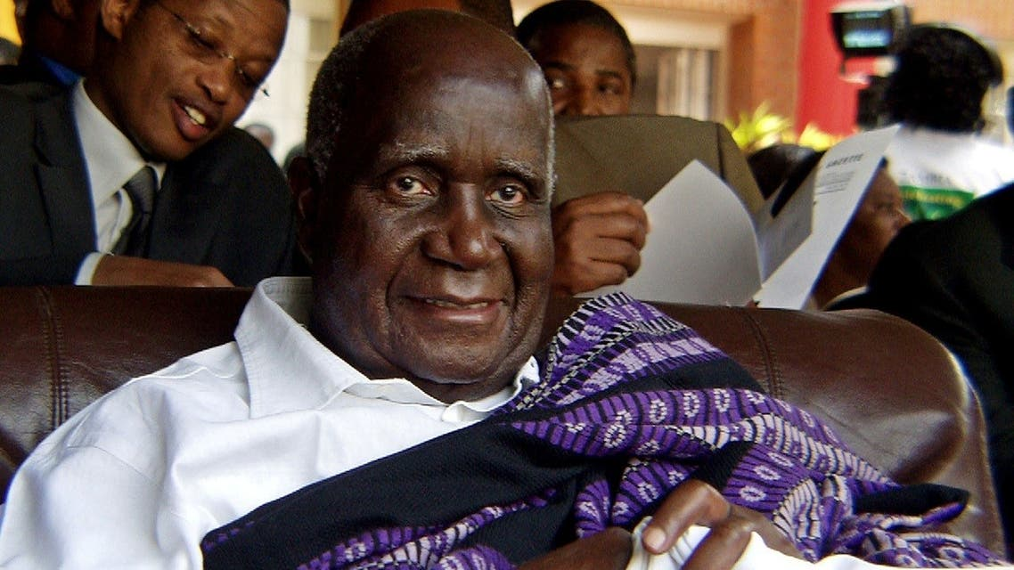 Zambia's former president Kenneth Kaunda attends the 40th anniversary of independence in Lusaka. (File photo: Reuters)