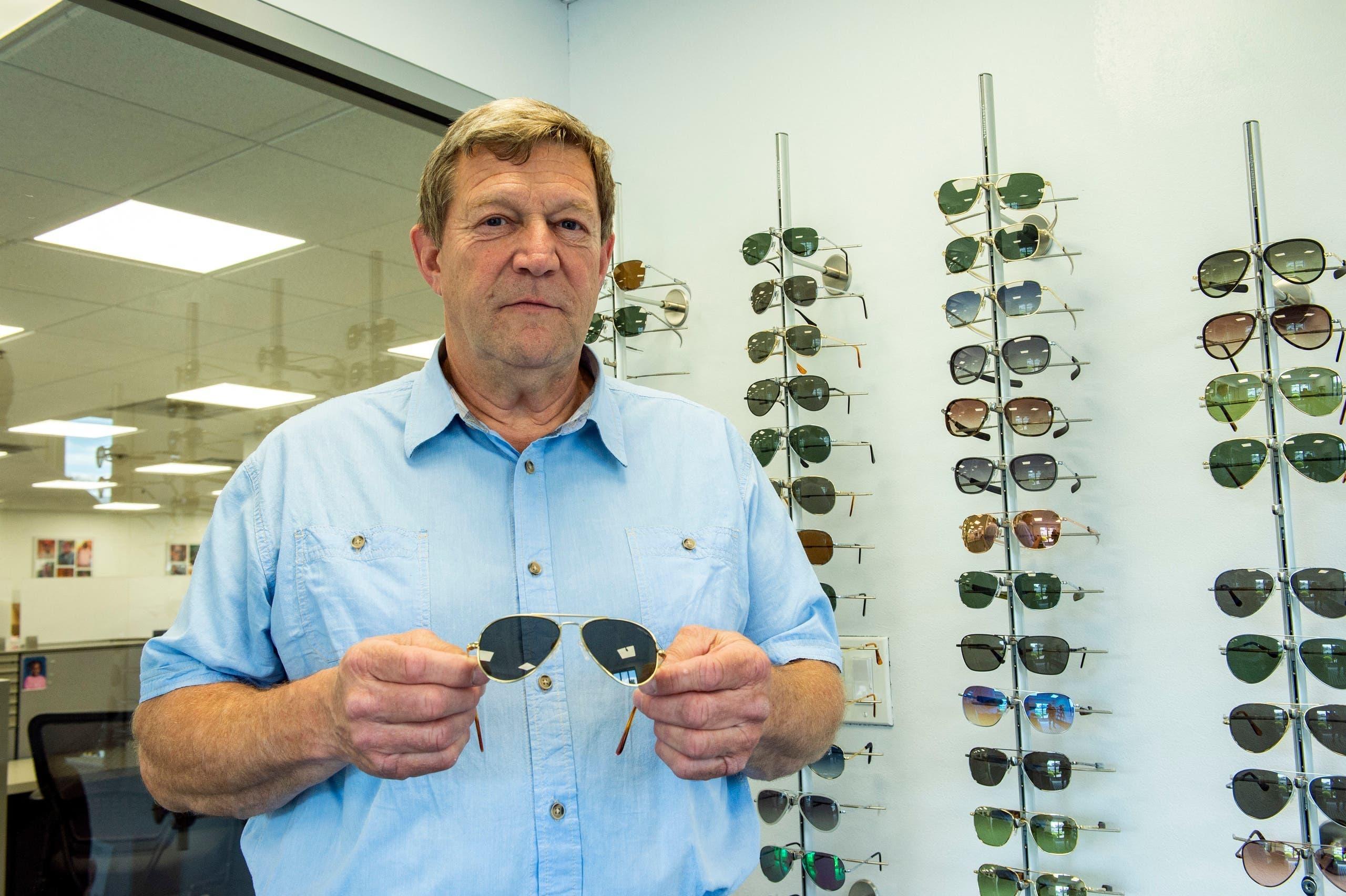 رئیس شرکت سازنده عینک اهدایی بایدن به پوتین